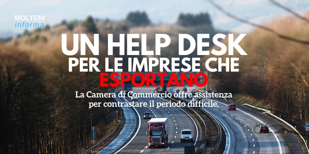 Un Help Desk per l'esportazione