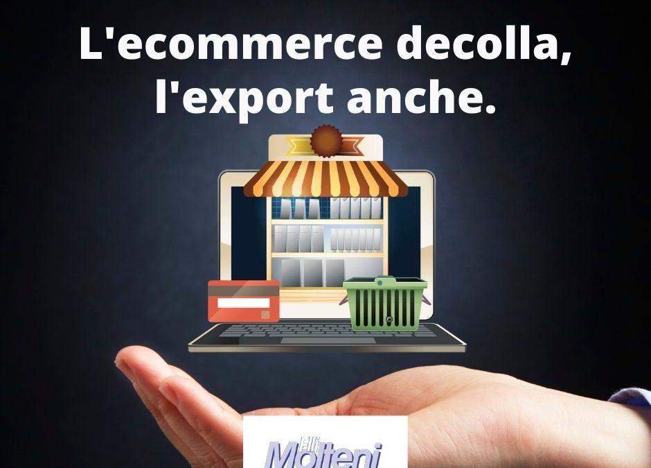 L'e-commerce salva l'export